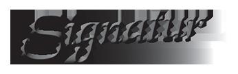 Signatur logo