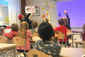 Musik i Syd, klassrumsbesök