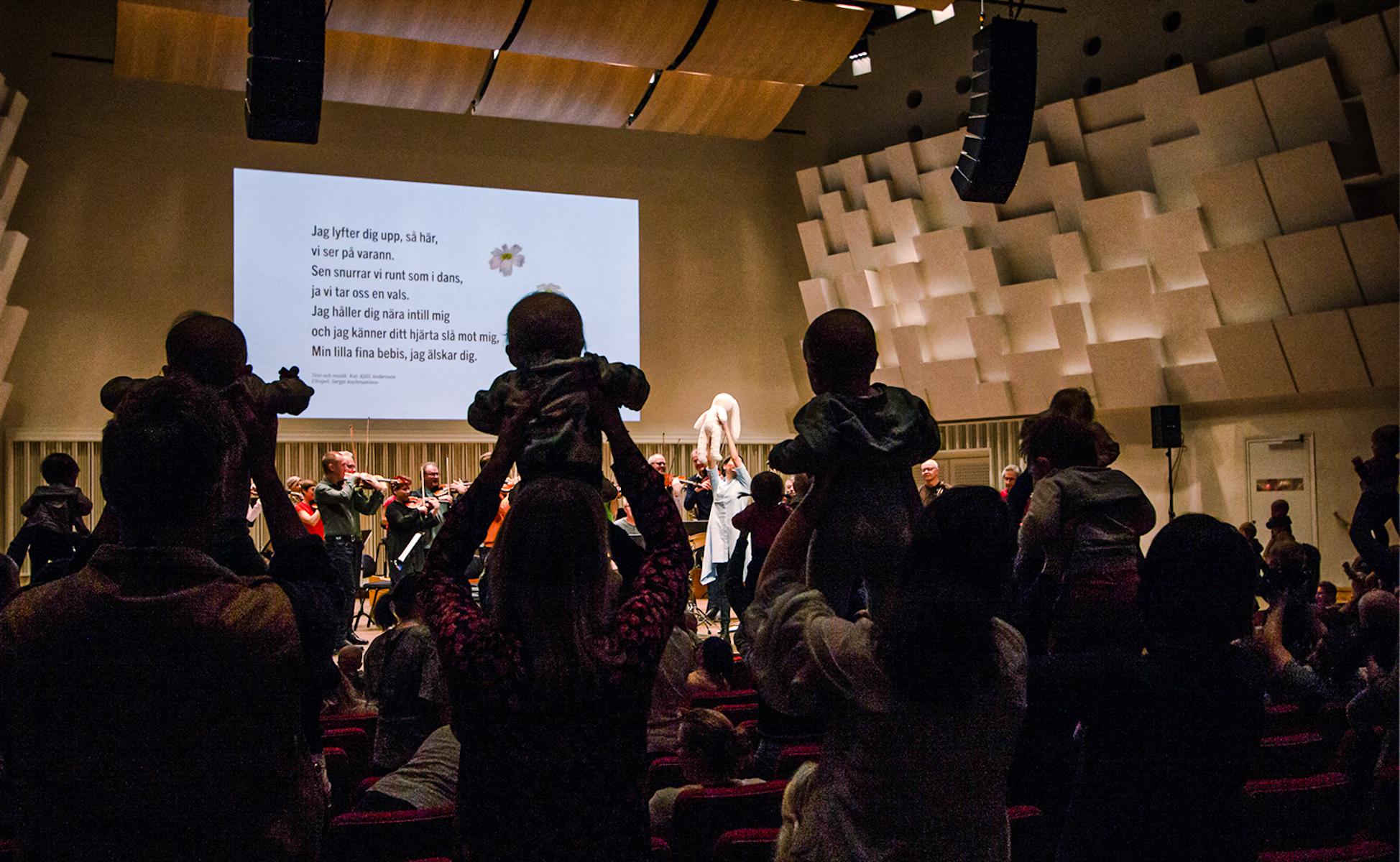 Bebiskonserter med Svenska Kammarorkestern