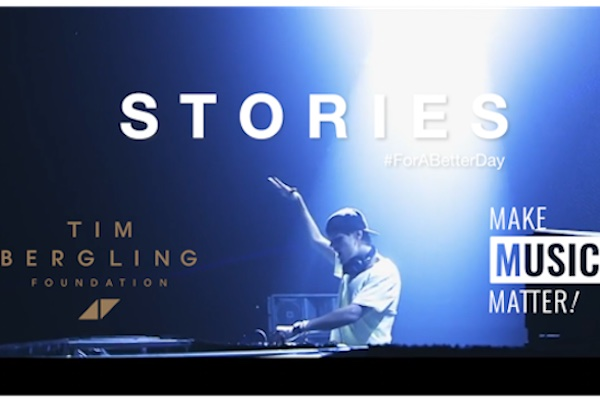 Make Music Matter SORIES #For a better day med Tim Bergling Foundation